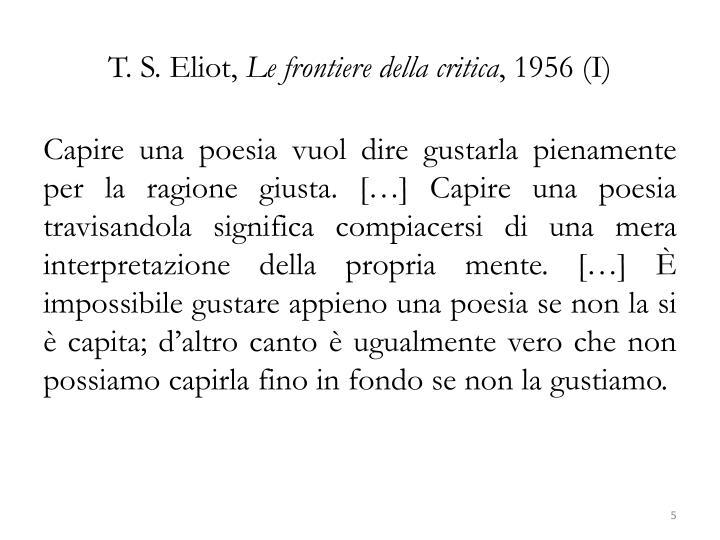 T. S. Eliot,