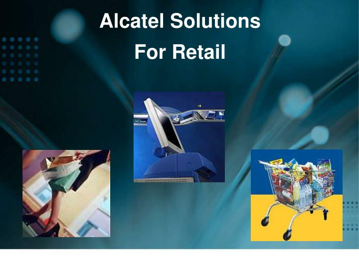 Alcatel Solutions