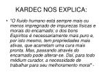 kardec nos explica