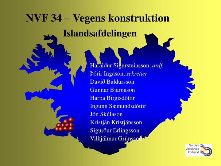NVF 34 – Vegens konstruktion