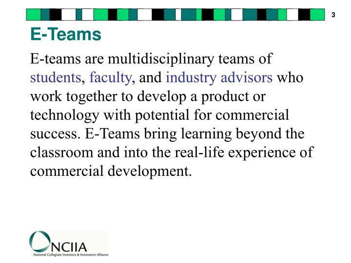 E-Teams