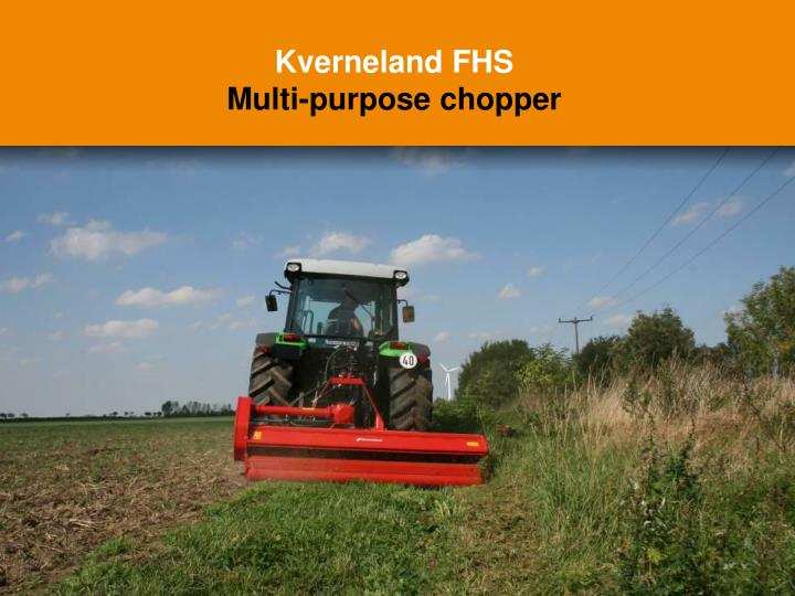 Kverneland FHS