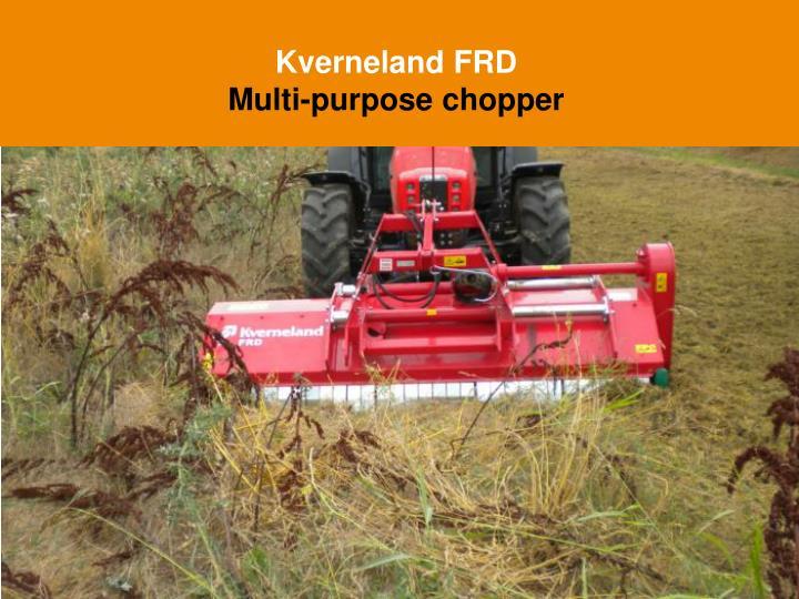 Kverneland FRD