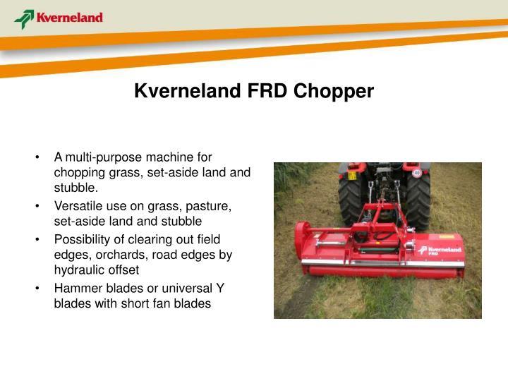 Kverneland FRD Chopper
