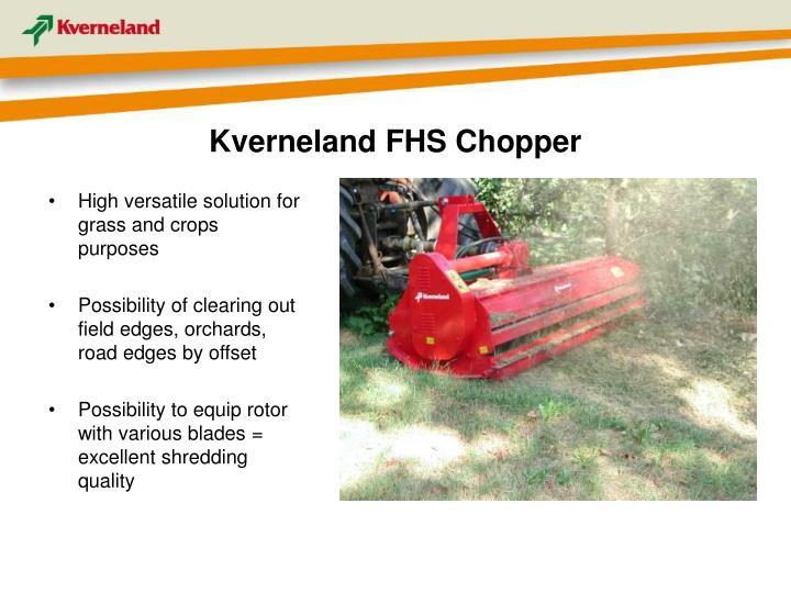 Kverneland FHS Chopper