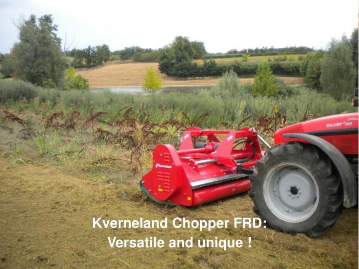 Kverneland Chopper FRD:
