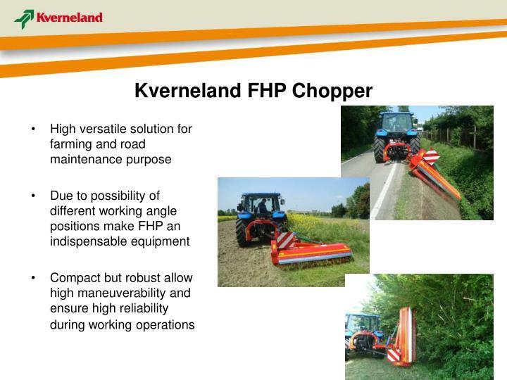 Kverneland FHP Chopper