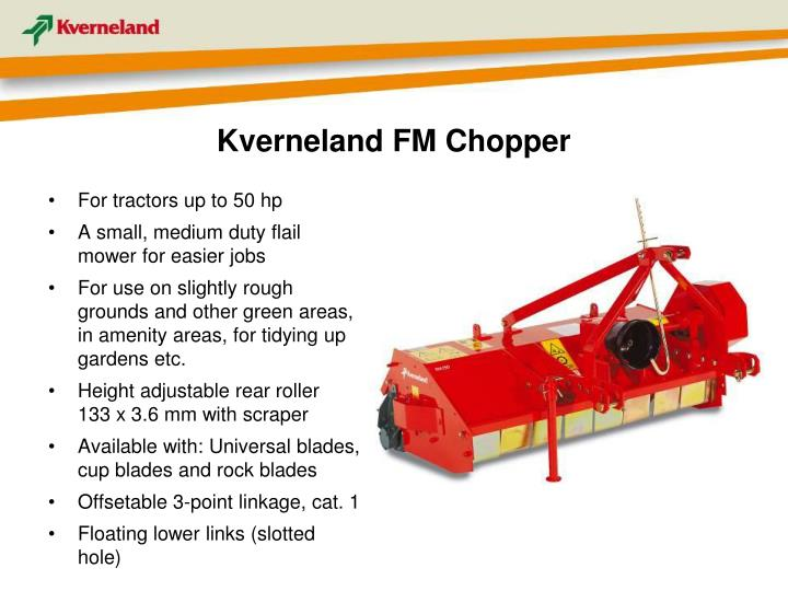 Kverneland FM Chopper