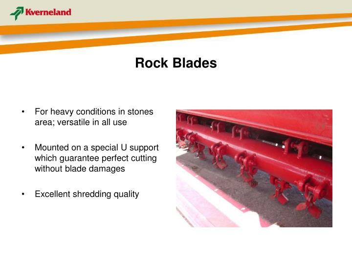 Rock Blades