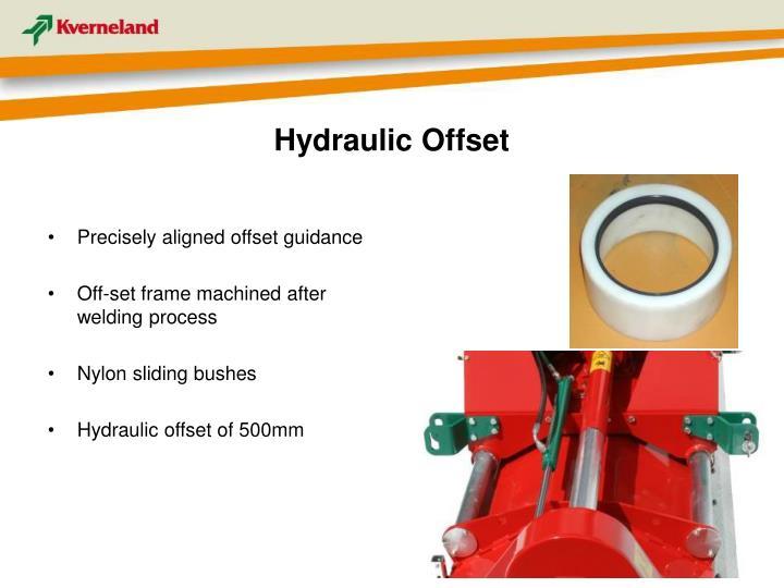 Hydraulic Offset
