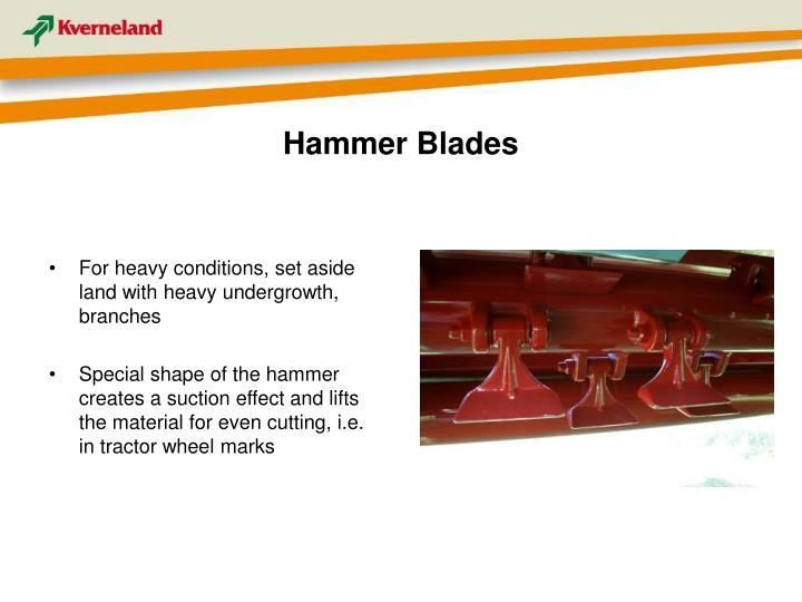 Hammer Blades