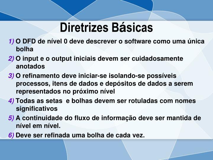 Diretrizes B