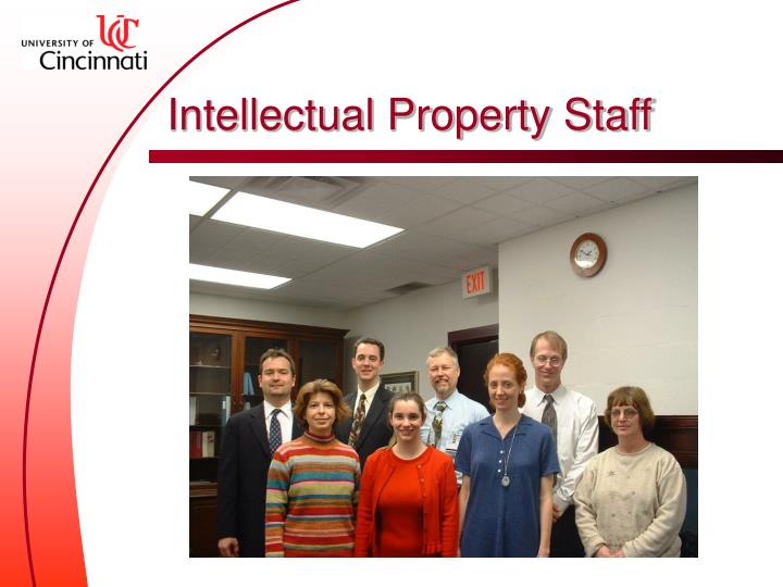 Intellectual Property Staff