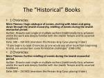 the historical books5