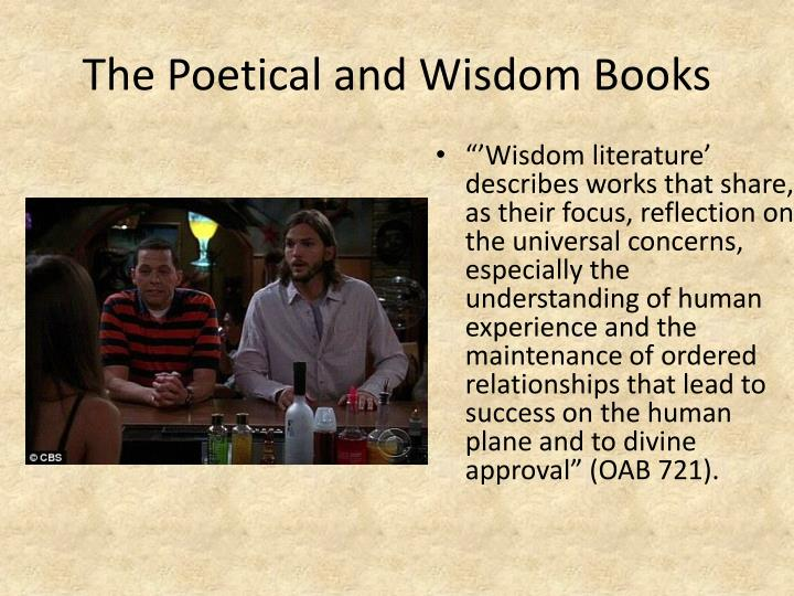 The Poetical and Wisdom Books