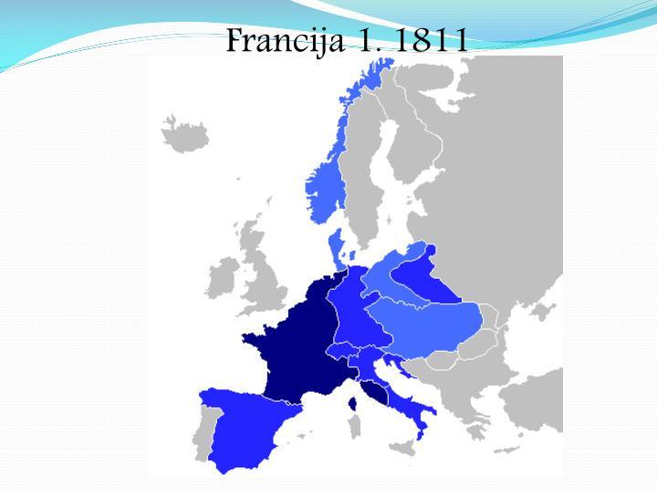 Francija 1. 1811