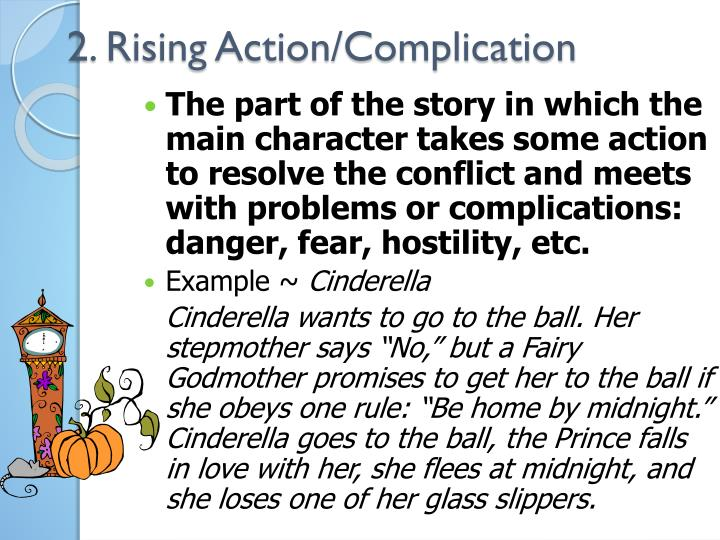 2. Rising Action/Complication