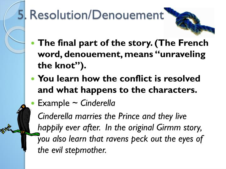 5. Resolution/Denouement