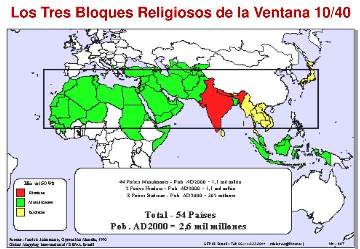 Los Tres Bloques Religiosos de la Ventana 10/40