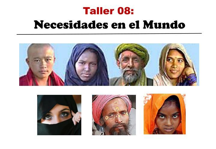 Taller 08: