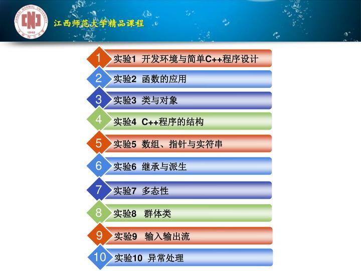 江西师范大学精品课程