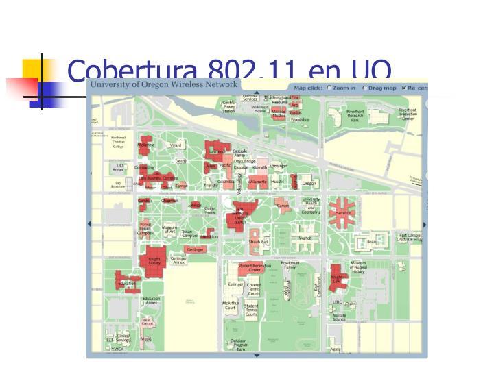 Cobertura 802.11 en UO