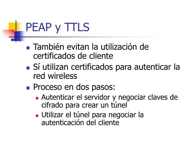 PEAP y TTLS