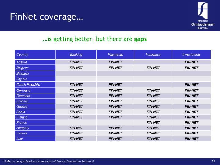FinNet coverage…