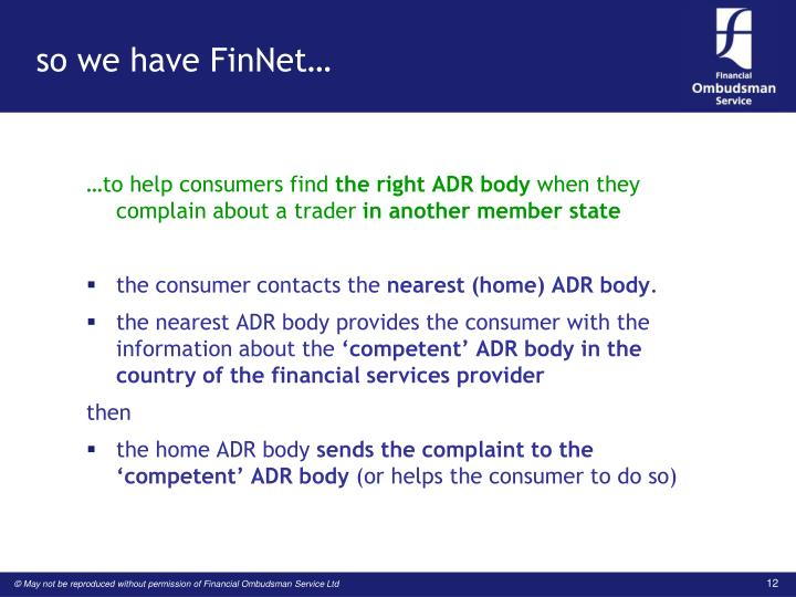 so we have FinNet…