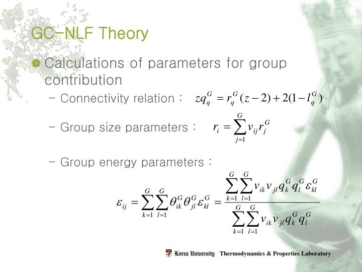 GC-NLF Theory