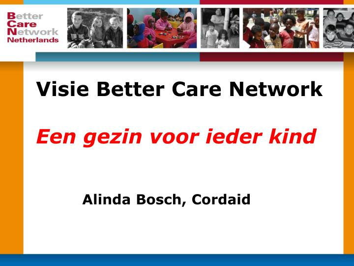 Visie Better Care Network