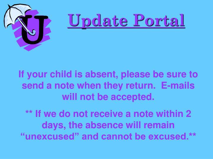 Update Portal