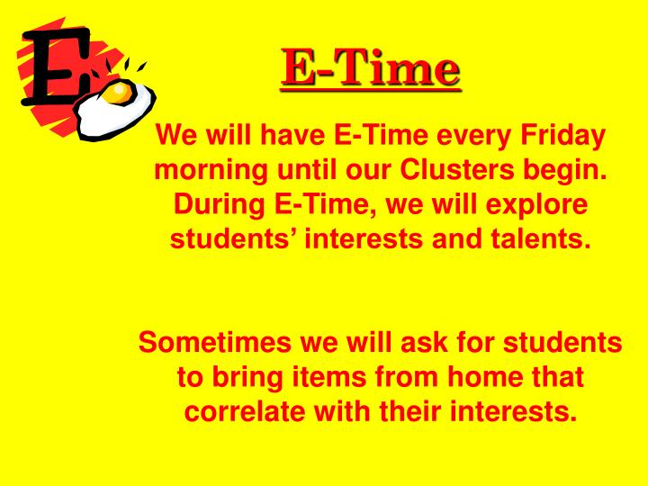 E-Time
