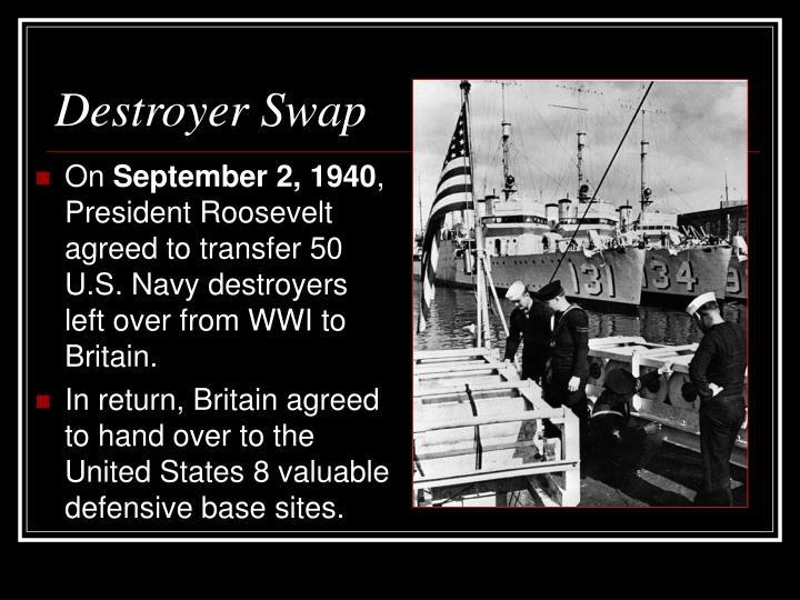 Destroyer Swap