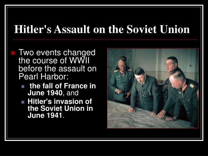 Hitler's Assault on the Soviet Union