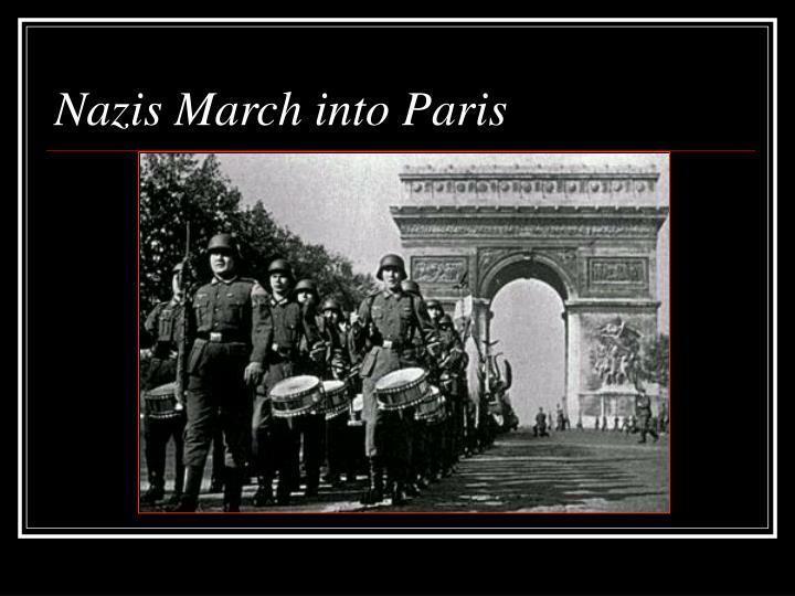 Nazis March into Paris