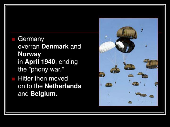 Germany overran