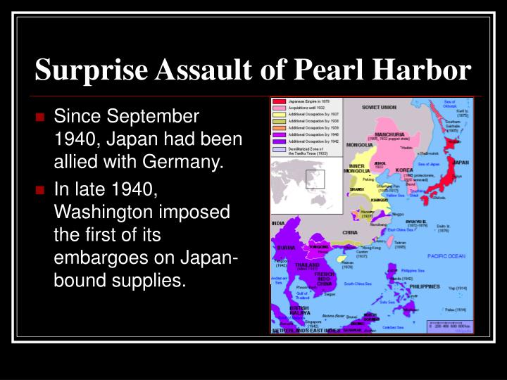 Surprise Assault of Pearl Harbor