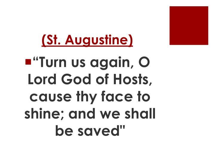 (St. Augustine