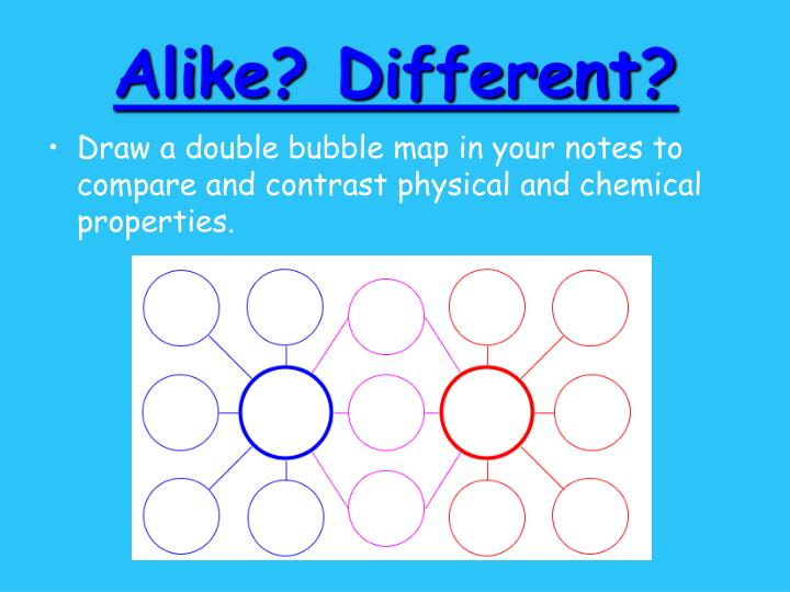 Compare And Contrast Physical Property And Chemical Property