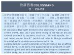 colossians 2 20 23