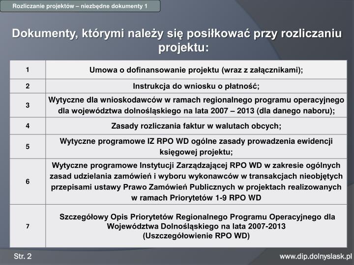 RPO WD 2007-2013 / 4