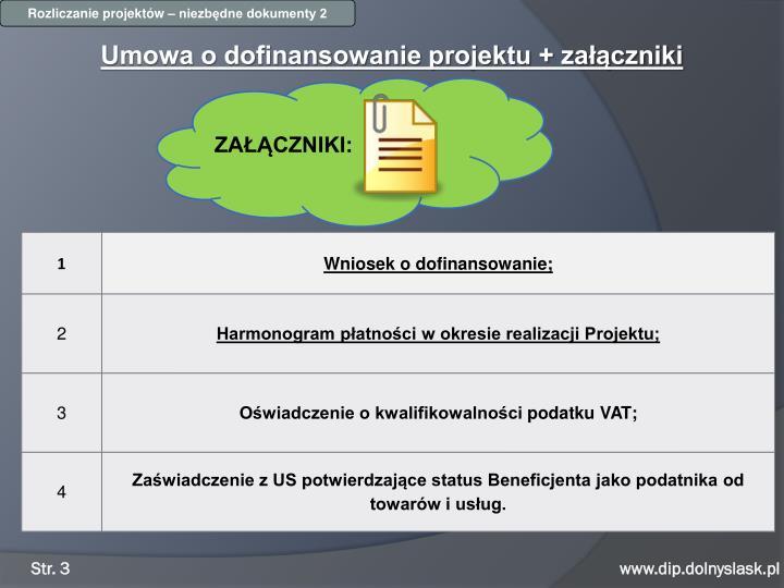 Rozliczanie projektów – niezbędne dokumenty 2