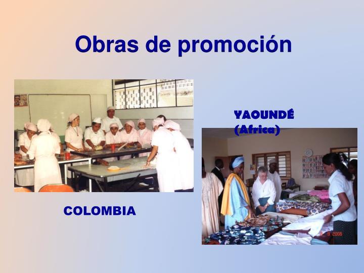 Obras de promoción