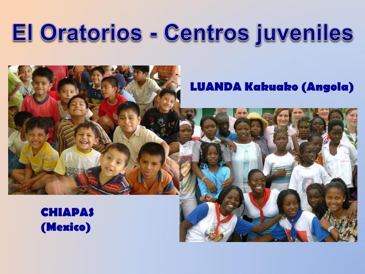 El Oratorios - Centros juveniles