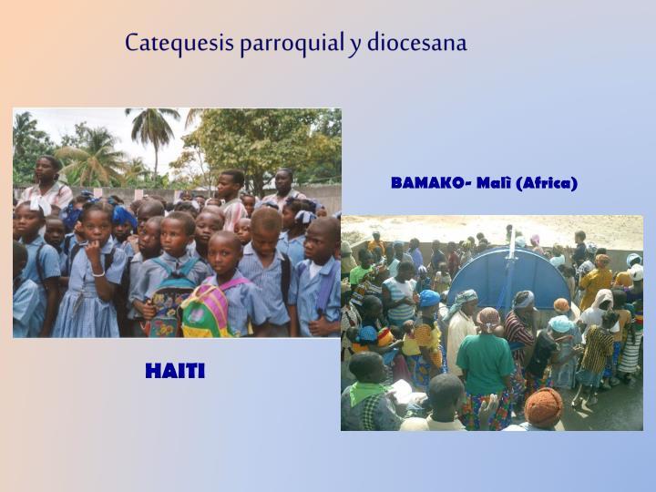Catequesis parroquial y diocesana