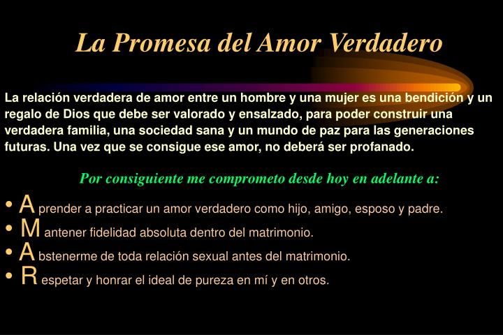 La Promesa del Amor Verdadero