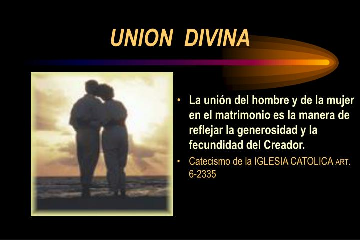 UNION  DIVINA