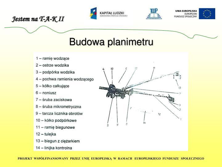 Budowa planimetru