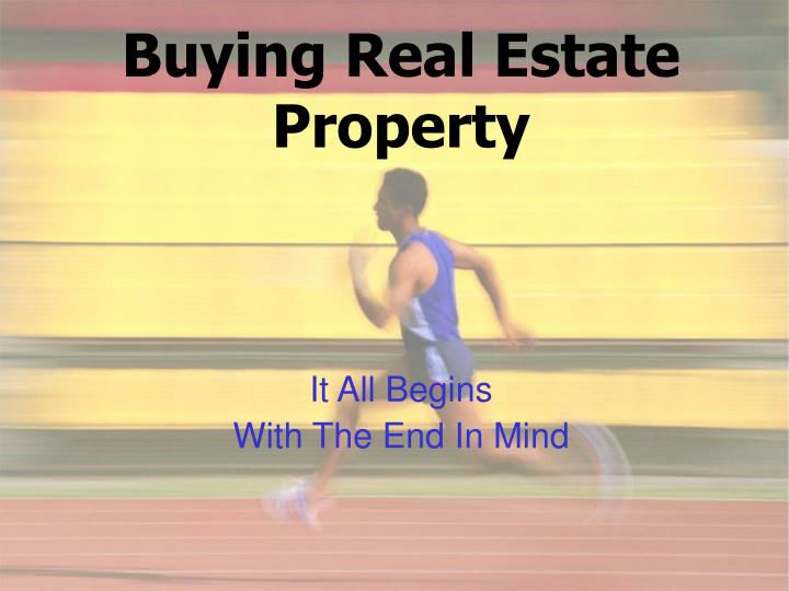 Buying Real Estate Property